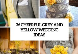 Wedding Decorations Yellow And Gray 36 Cheerful Grey And Yellow Wedding Ideas Weddingomania