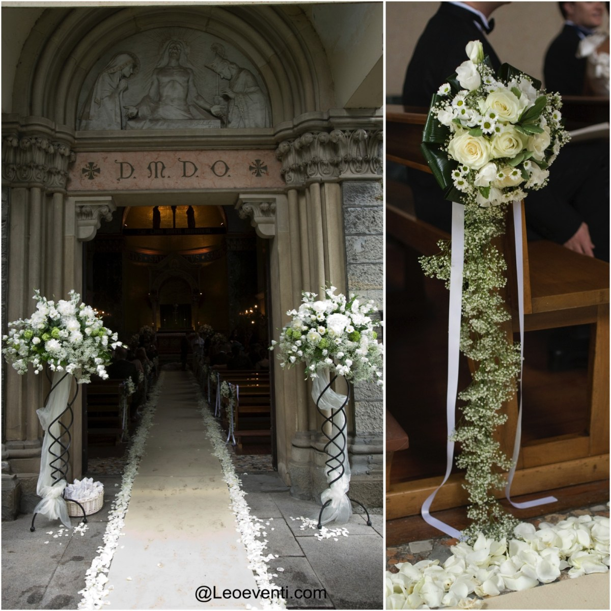 Wedding Flower Decorations Church Wedding Decorations Ideas For Your Wedding In Italy Leo Eventi