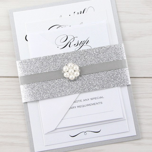 Wedding Invitation Assembly Oscar Parcel Wedding Invitation Pure Invitation Wedding Invites