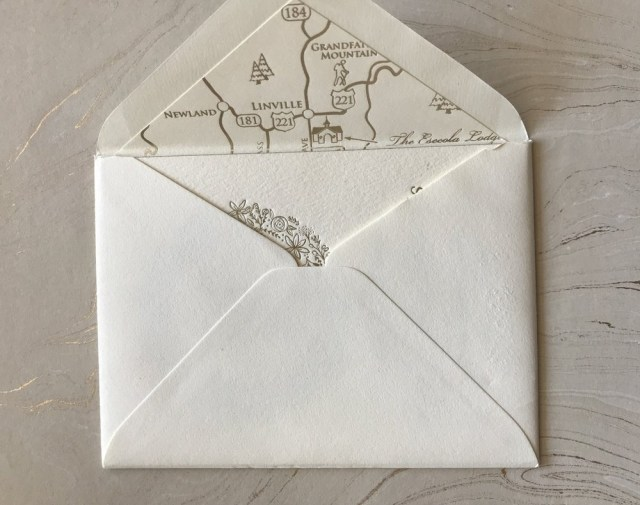 Wedding Invitation Envelope Wedding Wednesday Envelope Liners If Its Paper