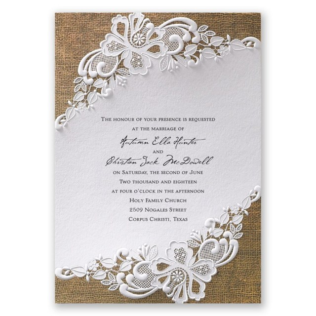 Wedding Invitation Images Lacy Dream Invitation Invitations Dawn