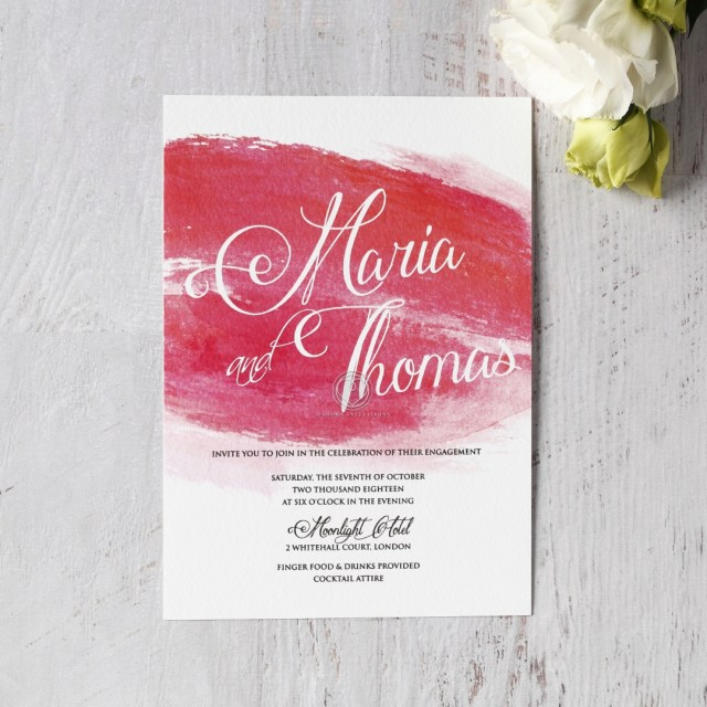 Wedding Invitation Images Magical Dusk Spring Destination Watercolor Wedding Invite De
