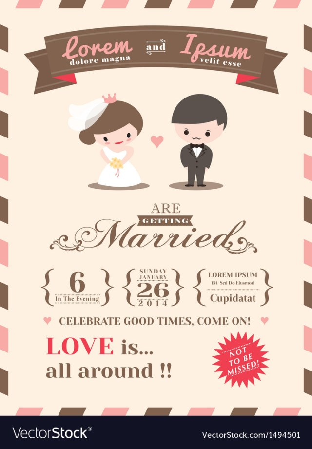 Wedding Invitation Images Wedding Invitation Card Template Royalty Free Vector Image