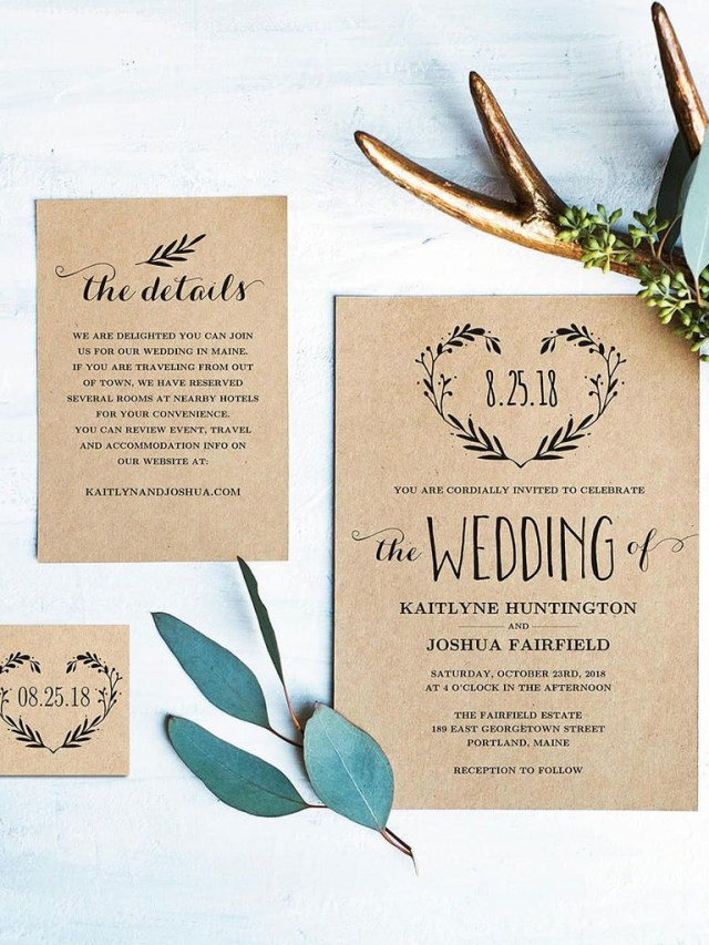 Wedding Invitation Maker 16 Printable Wedding Invitation Templates You Can Diy Wedding