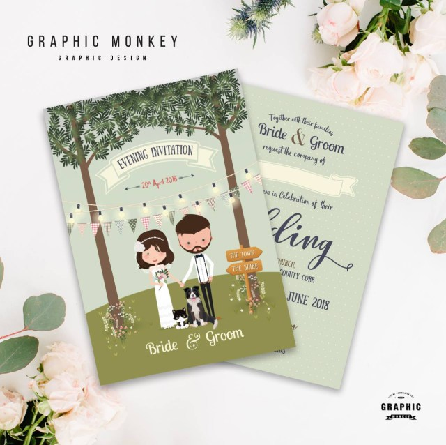 Wedding Invitation Pictures 18 Beautifully Illustrated Wedding Invitations Weddingsonline