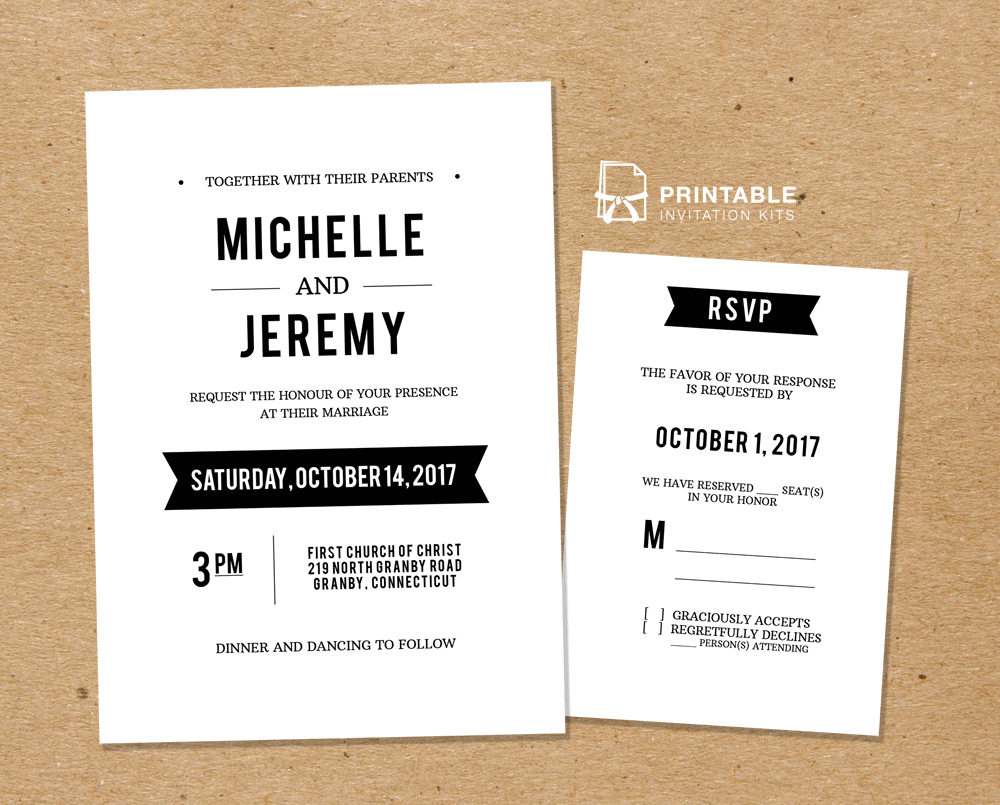 30+ Wonderful Image of Wedding Invitation Rsvp