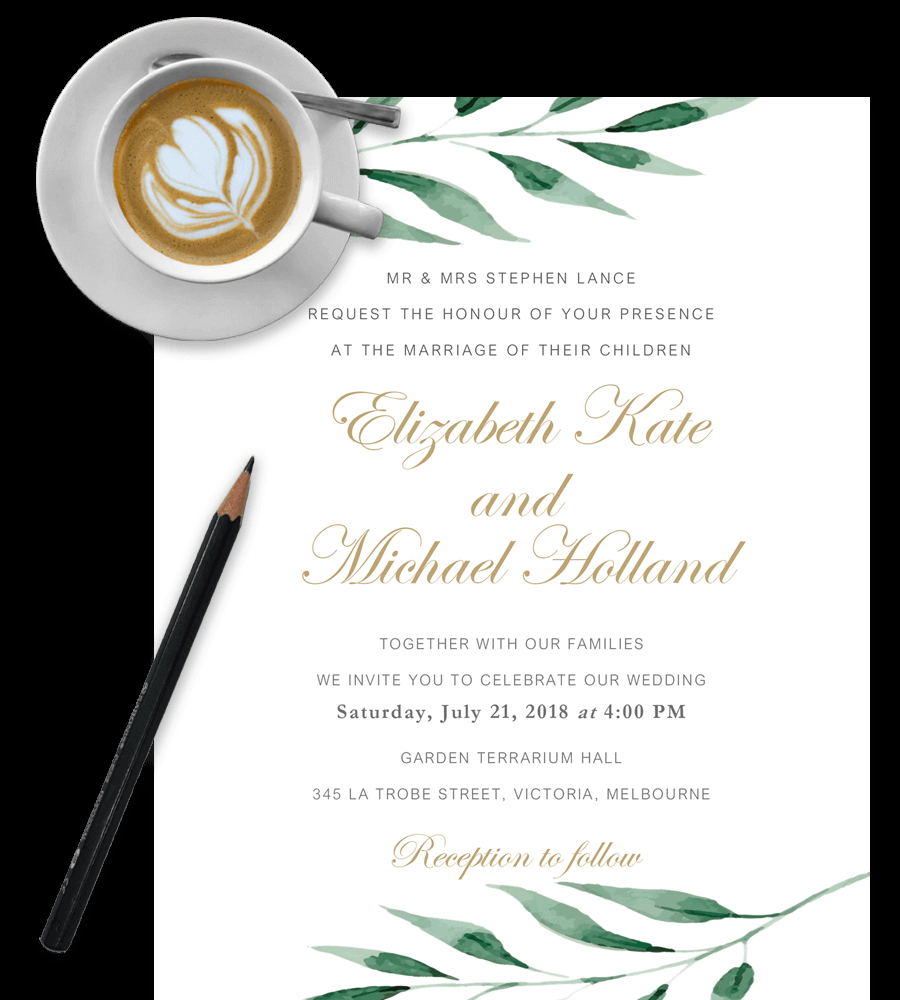 Wedding Invitation Template Free 100 Free Wedding Invitation Templates In Word Download Customize