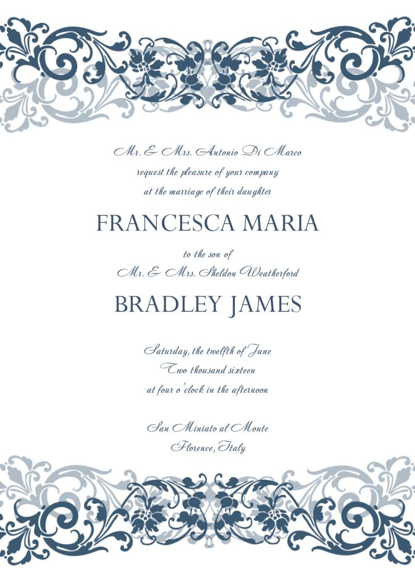 Wedding Invitation Template Free 30 Free Wedding Invitations Templates 21st Bridal World