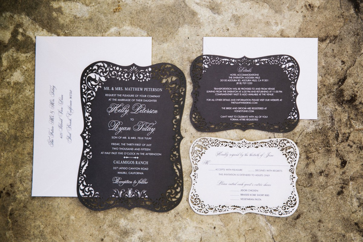 Wedding Invitation Timeline How To Stuff And Send Your Wedding Invitations Inside Weddings