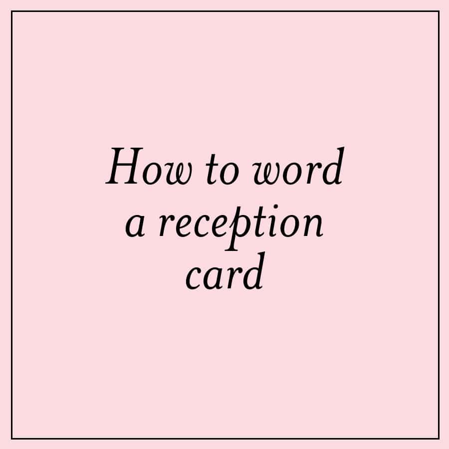 Wedding Invitation Wording Ideas Festive Reception Card Wording Ideas Custom Invitations Unique