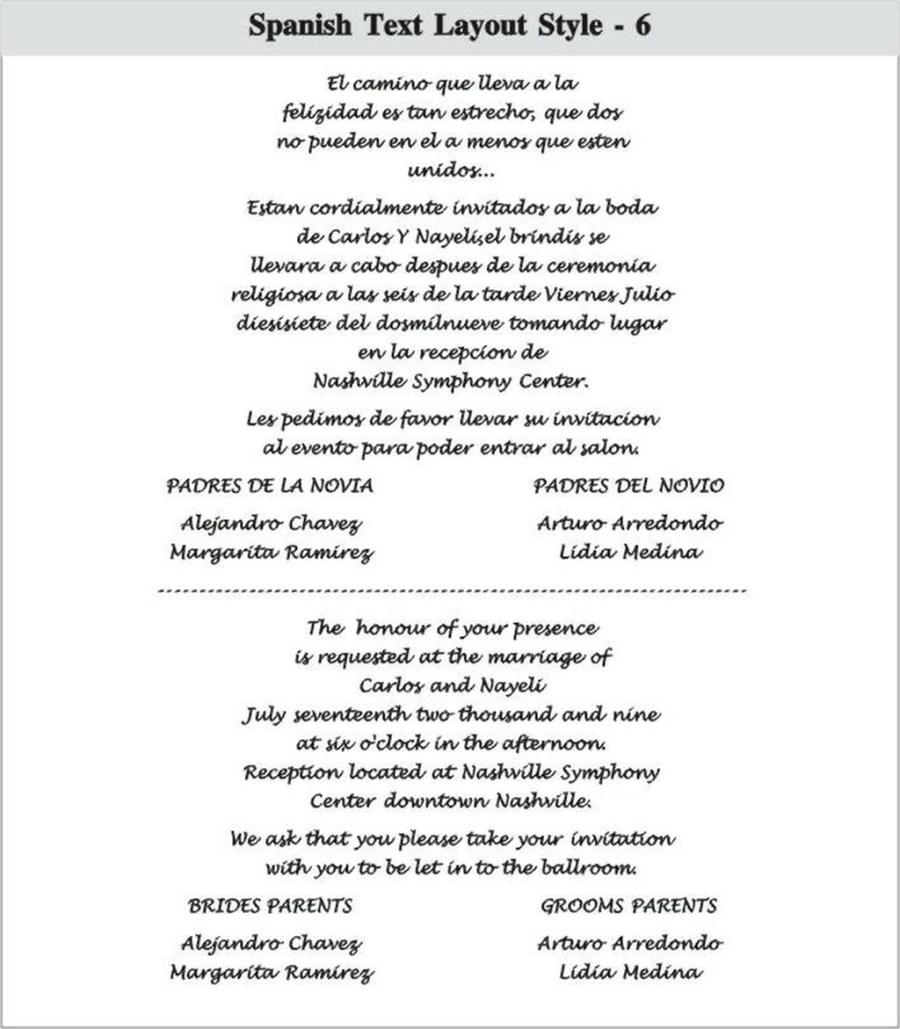 Wedding Invitation Wording In Spanish 206233 Spanish Wedding Invitation Wording Wedding Invitation Wording