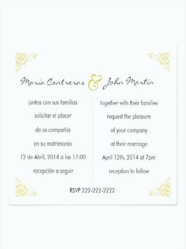 Wedding Invitation Wording In Spanish 206241 Wedding Invitation Templates In Spanish Wedding Invitation