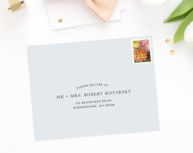 Wedding Invitations Addressing How To Address Your Wedding Invitation Envelopes Part 1