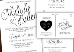 Wedding Invitations Black And White Printable Wedding Invitation Calligraphy Wedding Invitation
