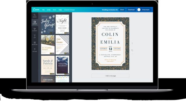 Wedding Invitations Kits Free Online Wedding Invitation Kits Design Custom Wedding Kits In Canva