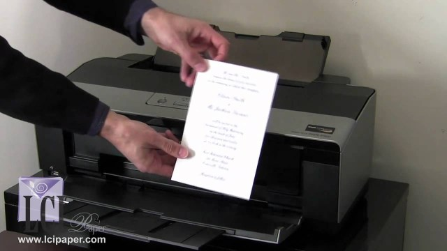 Wedding Invitations Printing How To Print Your Own Invitations Diy Invitations Made Easy Youtube
