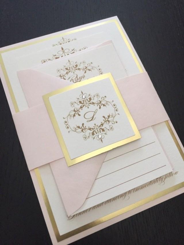 Wedding Invitations Printing Wedding Invitations Gold Wedding Invitation Blush And Gold