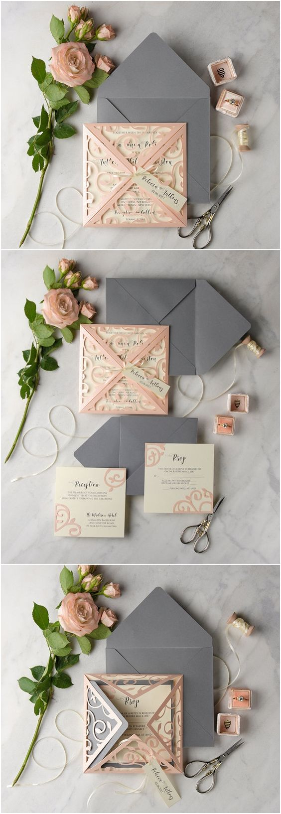 Wedding Invitations Sets 30 Our Absolutely Favorite Rustic Wedding Invitations Deer Pearl