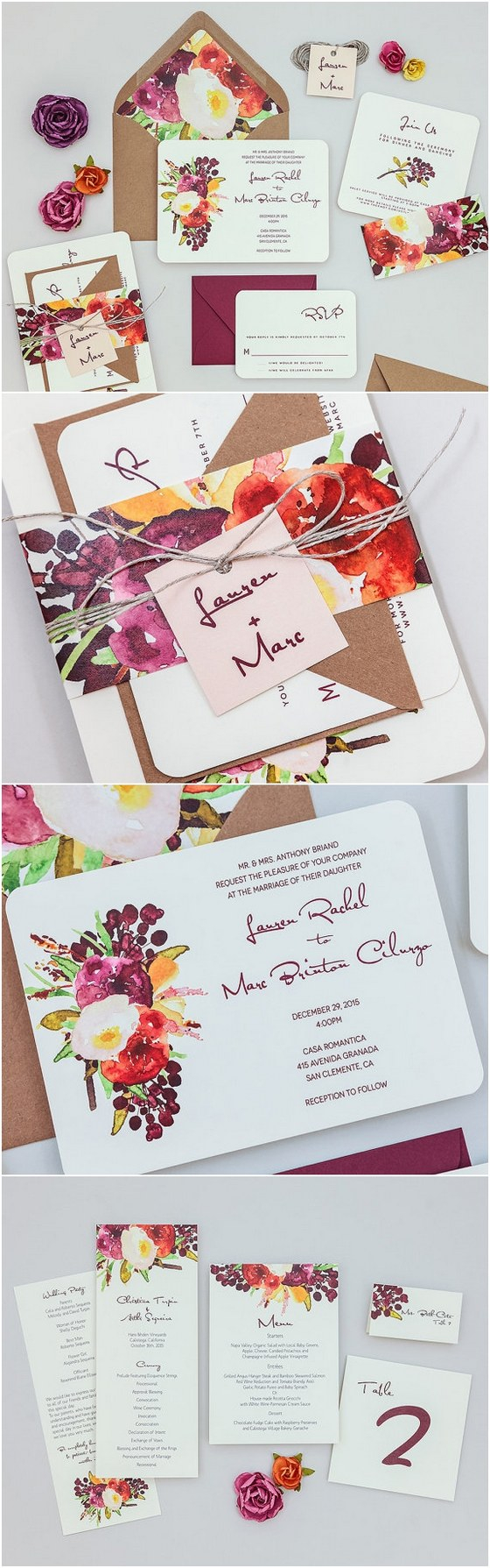 Wedding Invitations Sets 40 Watercolor Wedding Invitation Ideas You Will Love Deer Pearl
