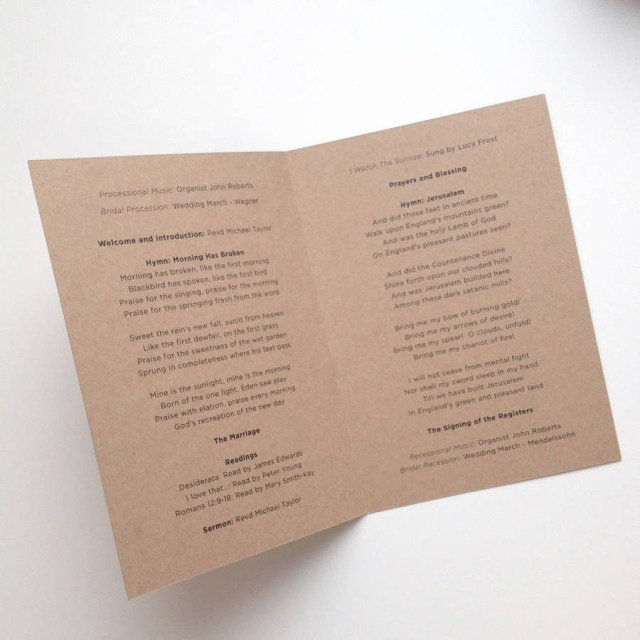 Wedding Invitations Sets Henley Rustic Kraft Wedding Stationery Set Megan Claire