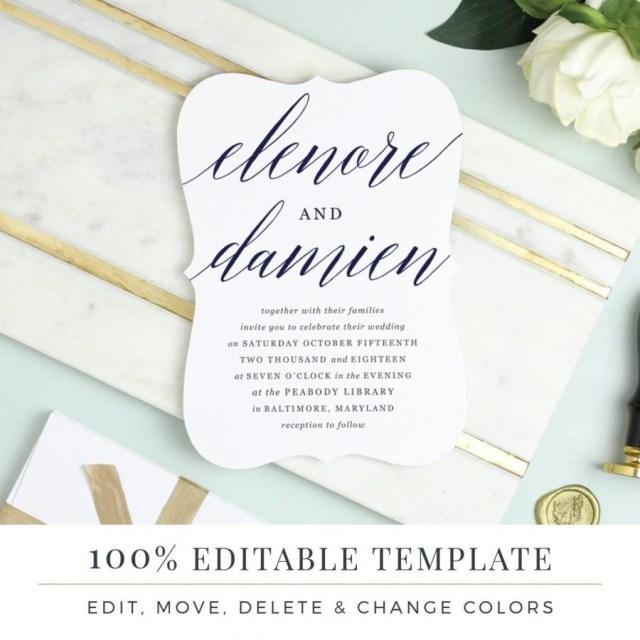 Wedding Invitations Template Einladung Printable Wedding Invitation Template 2640746 Weddbook