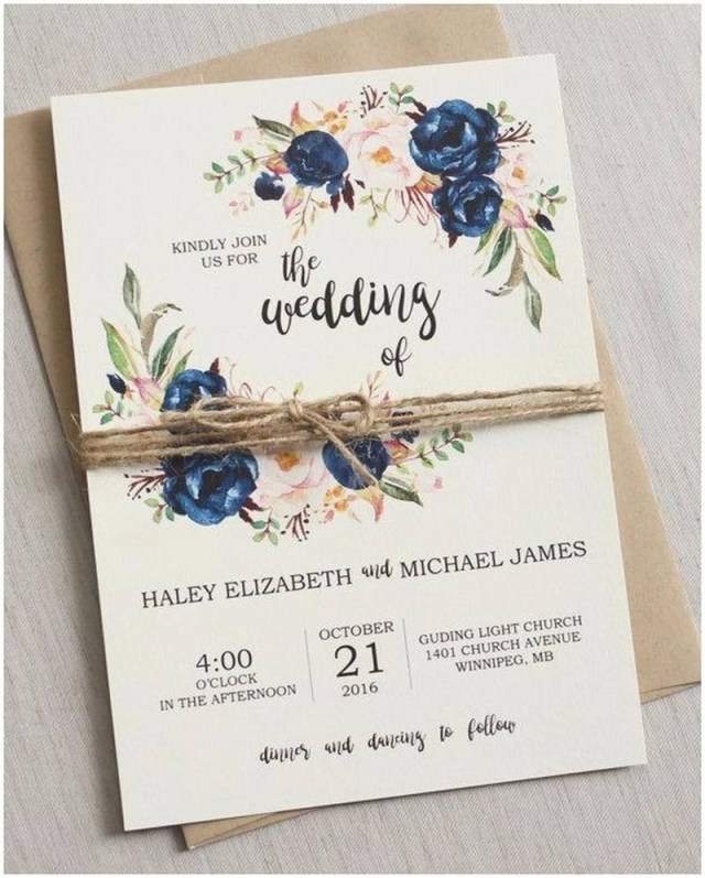 Wedding Invitations Under 1 206458 Rustic Wedding Invitations Under 1 30 Best Wedding Invites