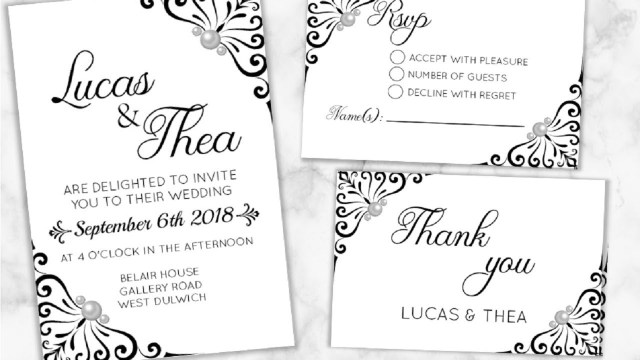 Wedding Invitations With Rsvp Diy Make Your Wedding Invitations Rsvp Thank You Cards I