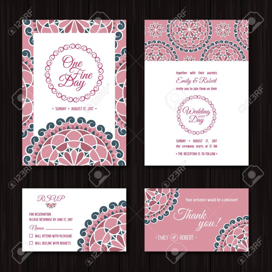 Wedding Invitations With Rsvp Wedding Invitations Sets Save The Date And Rsvp Cards Elegant
