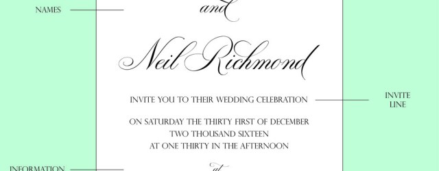 Wedding Invite Wording How To Wedding Invitation Wording Cz Invitations