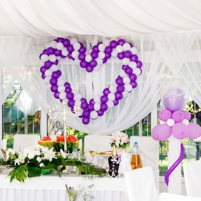 Wedding Party Decorations 49 Feet Balloon Arch Strip Tape Clear Balloon Garland Kit For