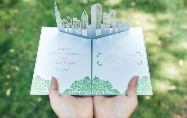 Wedding Pop Up Invitations Wow Wedding Invitations Custom Pop Up Invites Partyideapros