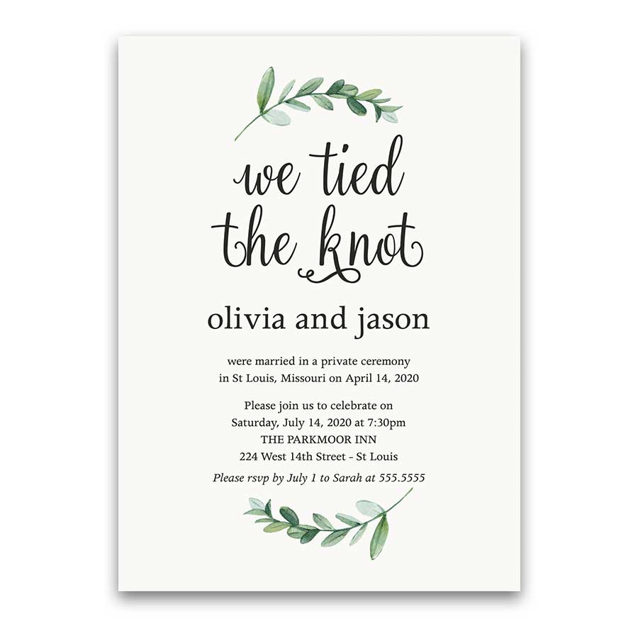 Invitation For Reception After The Wedding: 30+ Brilliant Image Of Wedding Reception Invitation
