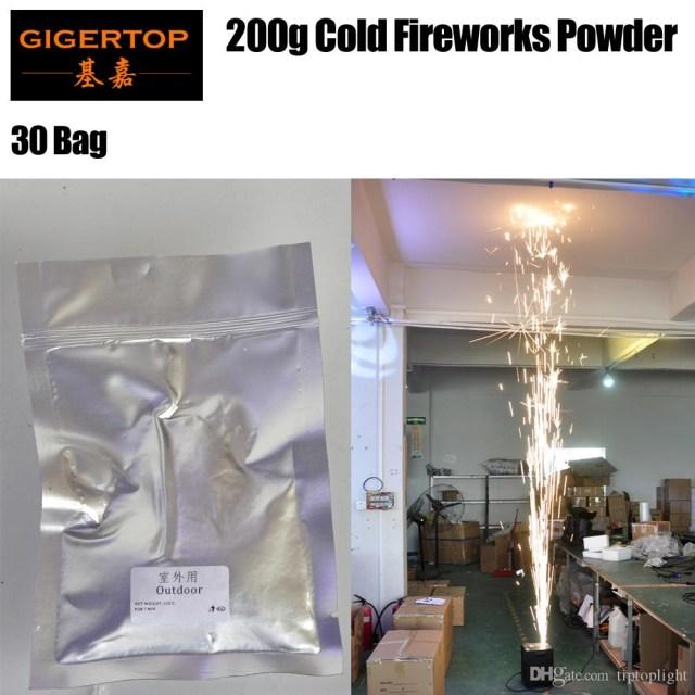 Wedding Stage Decoration Materials 2019 30 Bag Spark Firework Machine Stage Sparkular Machine Fountain