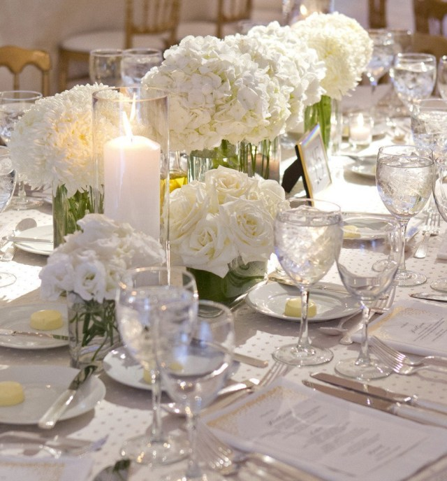 Wedding Tables Decoration Charming Wedding Table Decoration With Various White Table With
