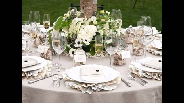 Wedding Tables Decorations Simple Wedding Table Decorations Ideas Youtube