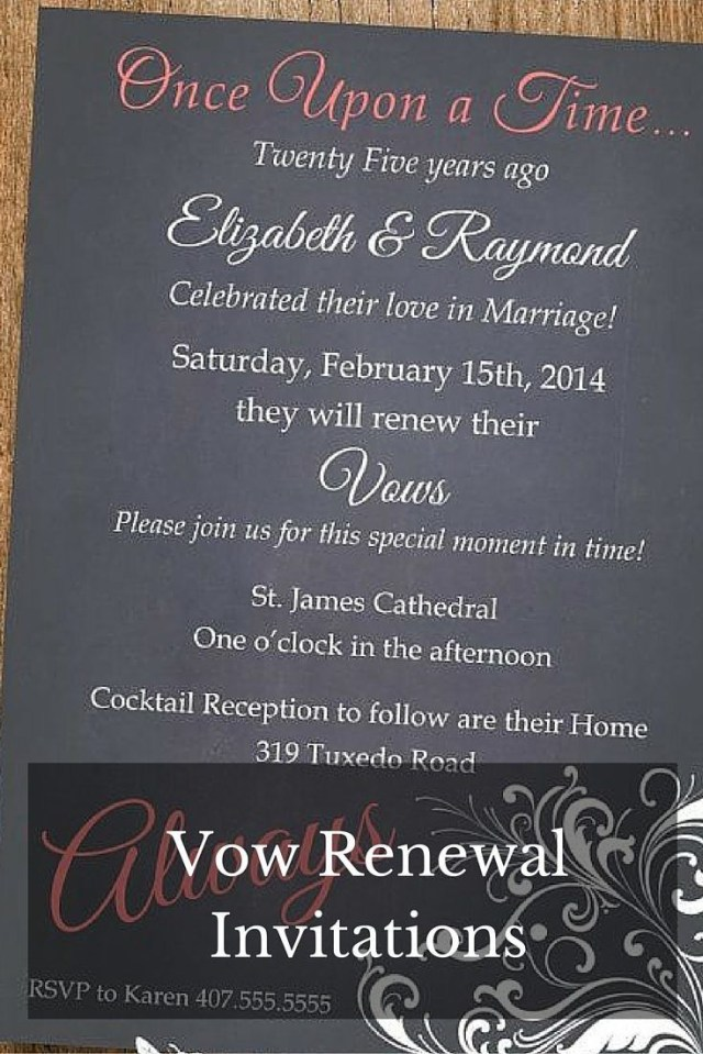 Wedding Vow Renewal Invitations Renewing Wedding Vows Invitations Pinterest Vow Renewal