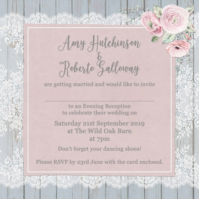 Small Ceremony Big Reception Invitations: 25+ Exclusive Image Of What To Say On Wedding Invitations