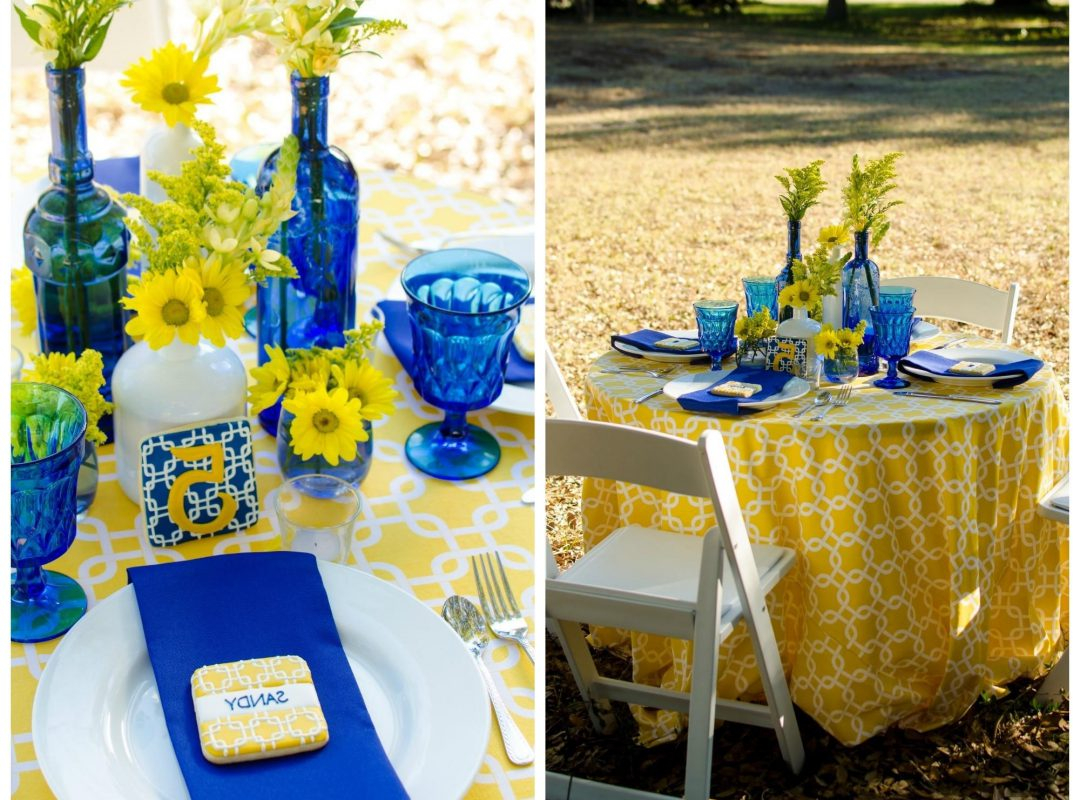 Yellow Wedding Decorations Blue And Yellow Wedding Decorations Magnificent Best Images On