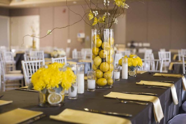 Yellow Wedding Decorations Yellow And White Wedding Theme Yellow Wedding Decorations Massvn