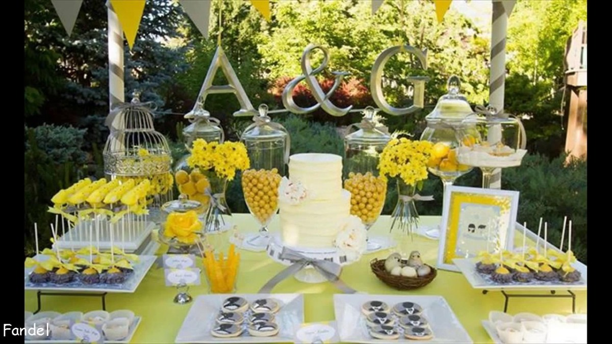 Yellow Wedding Decorations Yellow Wedding Decorations Ideas Youtube