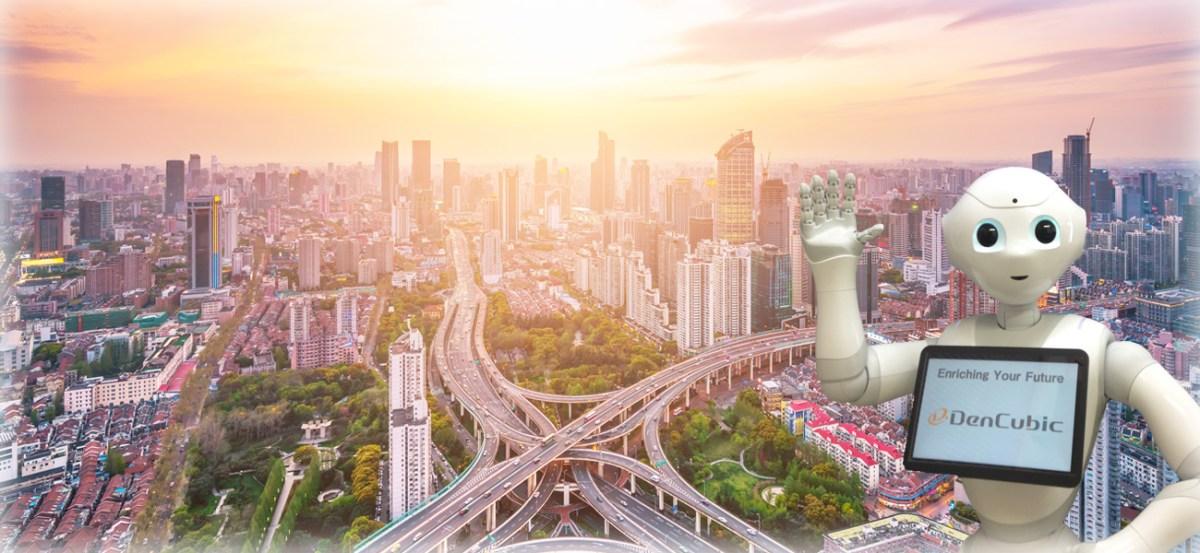 DenCubicは、ロボットと共存共生していく未来社会に向けてロボティクス事業に取り組んでいます。