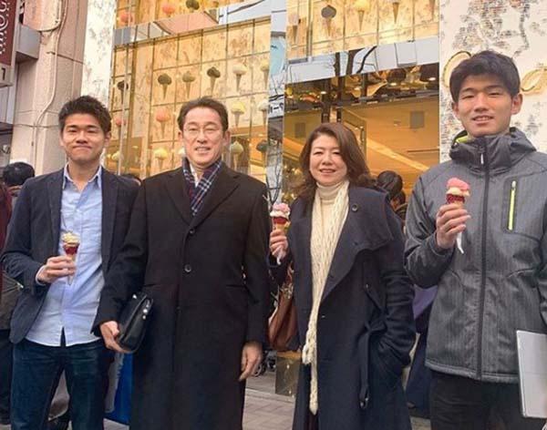 岸田文雄の家族