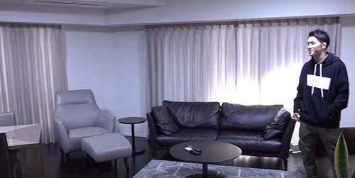 朝倉海のマンション