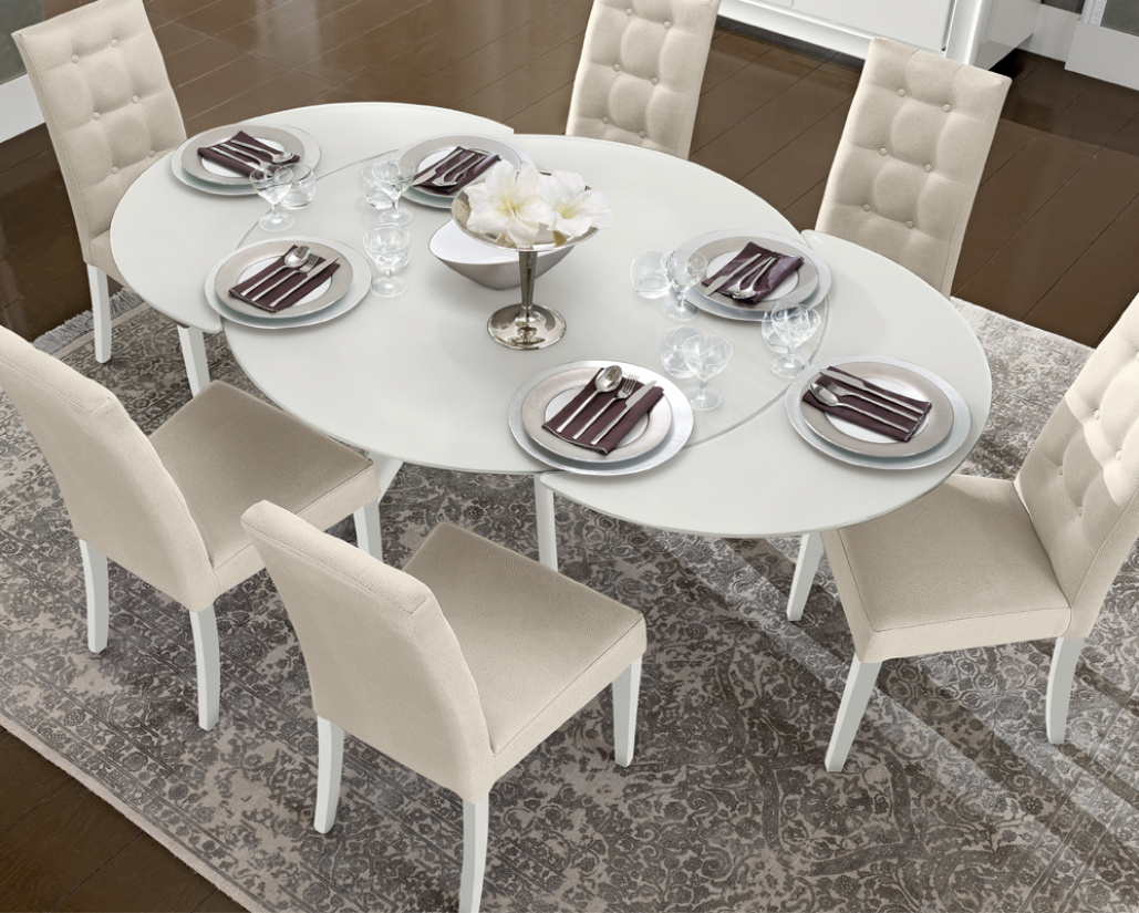 Buy Dexter Extending Round Dining Table Online In London