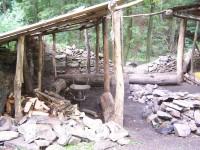 dřeva bylo připraveno na 3 večery