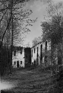 Ruina mlýna Šimákov, rok 1942