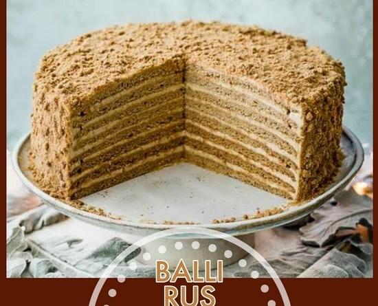 Ballı Rus Pastası