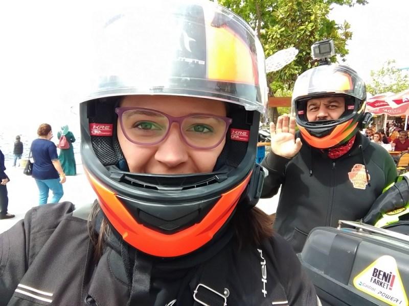 motosikletle yolculuk, güvenli sürüş