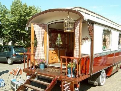bohem tarz karavan