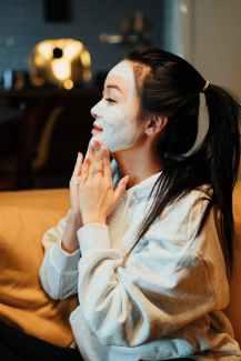 güzellik peeling maske yapımı